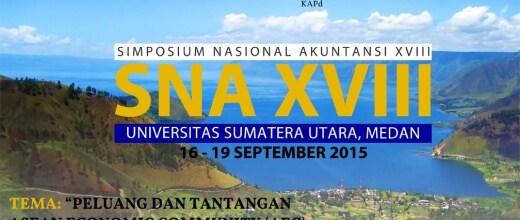 Simposium Nasional Akuntansi XVIII Medan